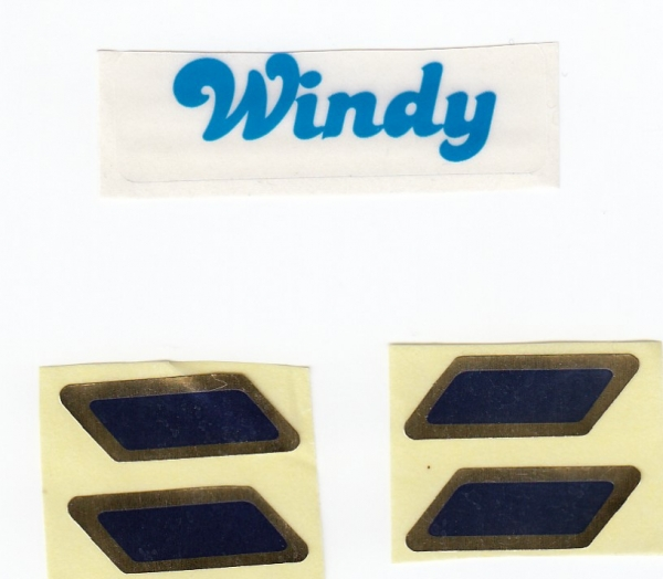 5088 labels for sailing boat Windy
