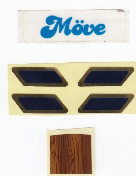 5089 labels for sailing boat Möve