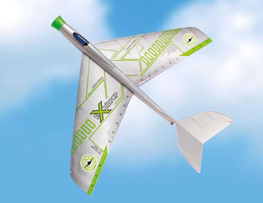 Gunther Power Glider Radio Control Plane